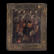 Icon of Jesus The  King (Deisos) 001/0080 D