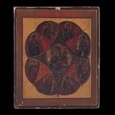 Icon of Burning Bush  Virgin Mary 001/0309 D
