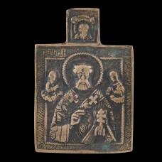 Traveling Icon of Saint Nicolas 001/0336 D