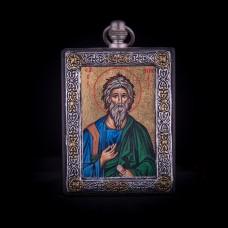 002/0040 Silver icon of Saint Andrea