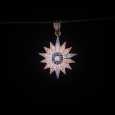 003/0267 Star of bethlehem with diamonds