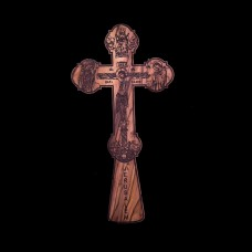 004/0001 Olive wood blessing cross
