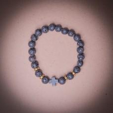 005/0023 black stone bracelet