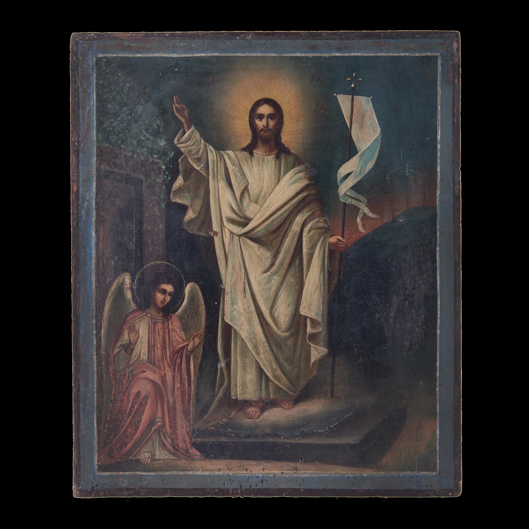 Resurrection of Christ Icon  001/0241S 6