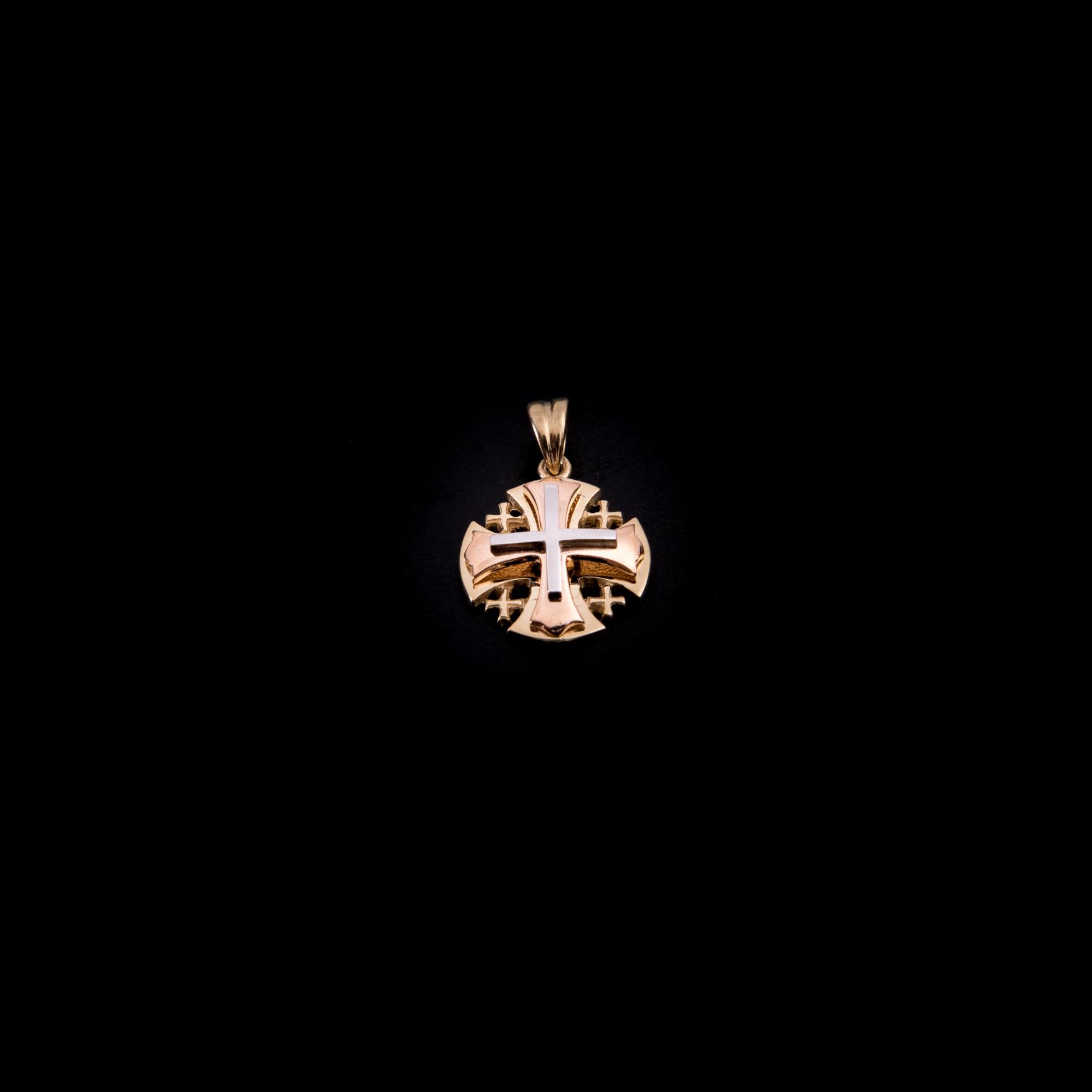 003/0247  Jerusalem cross 14k