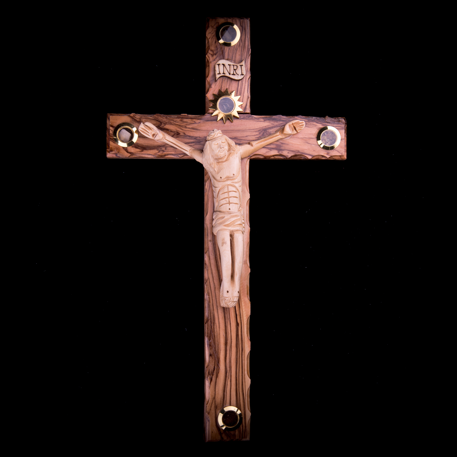 004/0009 Olive wood cross